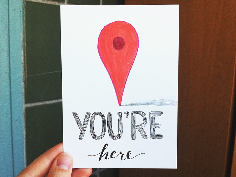 You're here